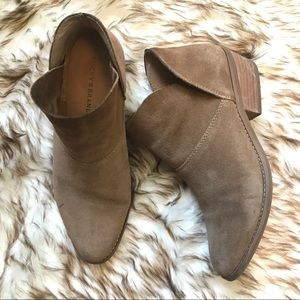 SUEDE LUCKY BRAND BOOTIES